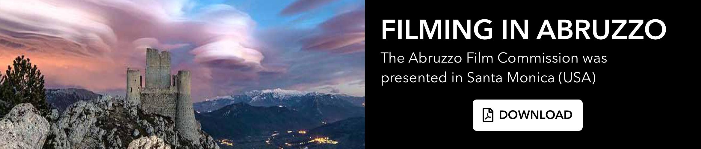 Filming in Abruzzo. Download pdf file.
